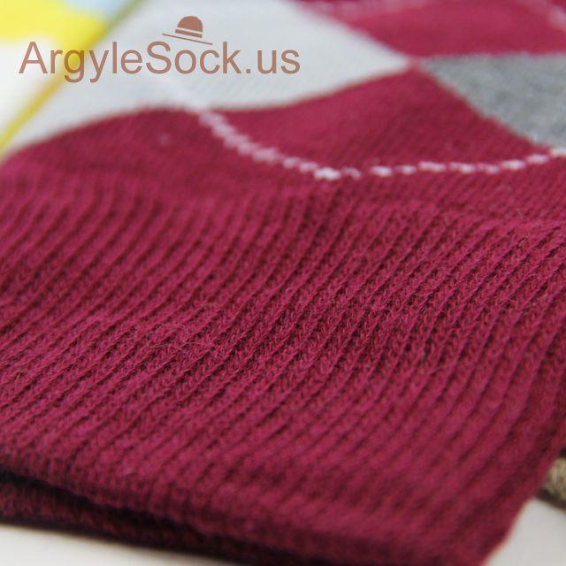 maroon mens wedding socks