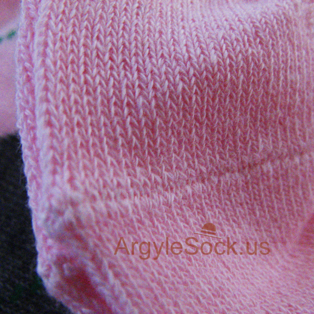 pink with gray(grey) men's argyle socks