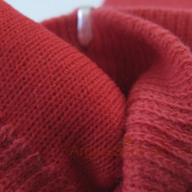 red argyle socks for men from karin's socks manufacturer