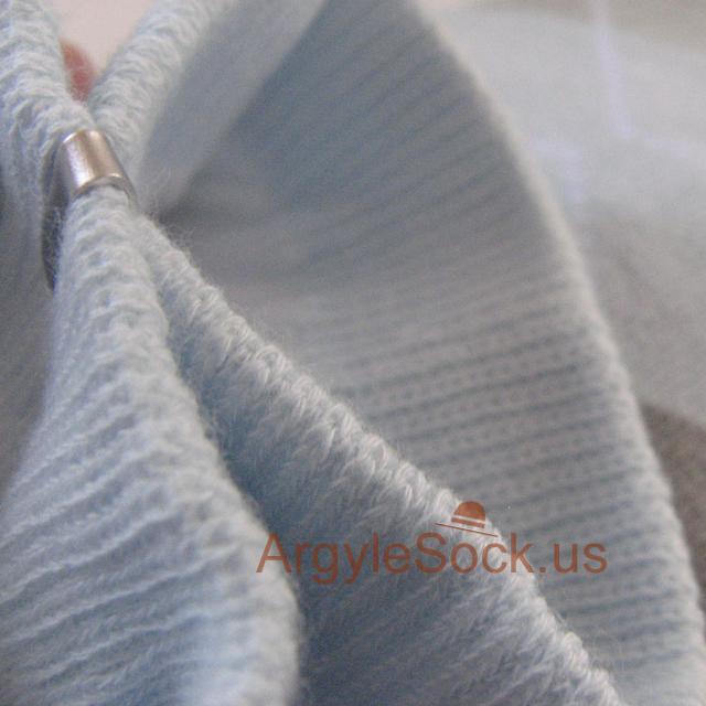 very light blue argyle socks for men, karin's socks