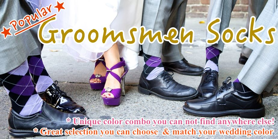 popular groomsmen socks