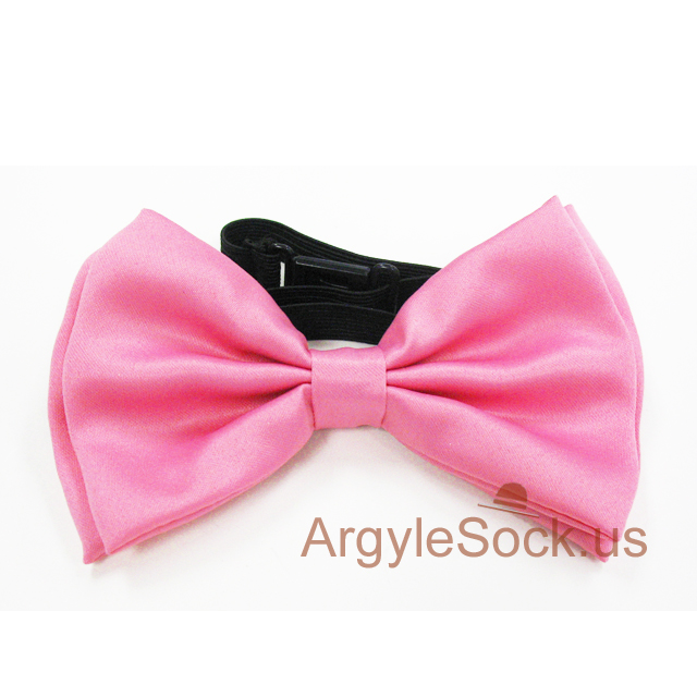 bow tie for men pink