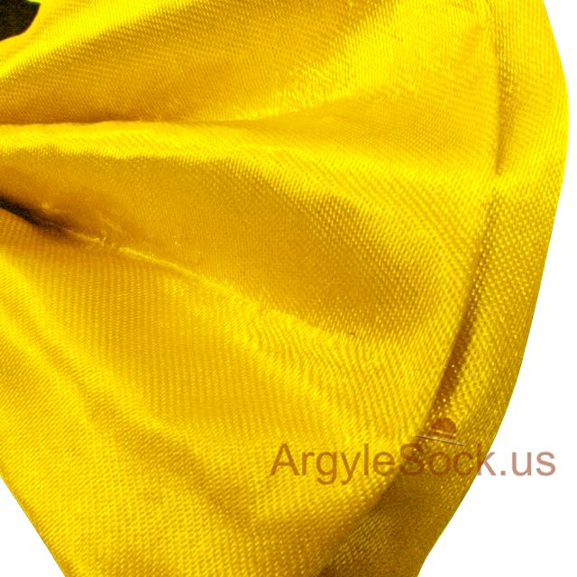 chap neon yellow bow tie for wedding