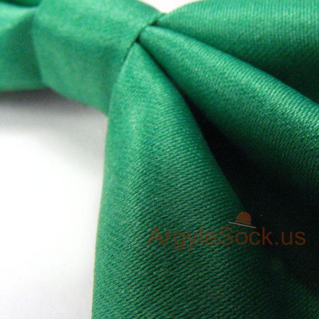 groomsmen green bow tie