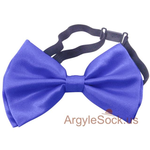 wedding lavender blue bow tie for groomsmen
