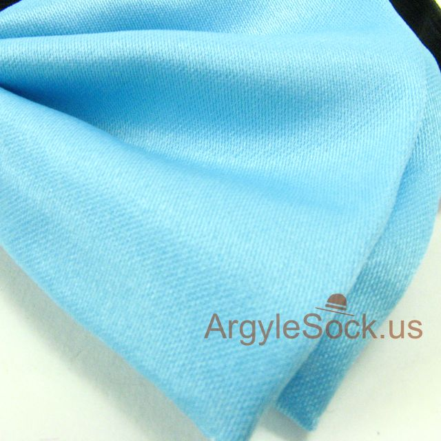 light blue cheap bow tie
