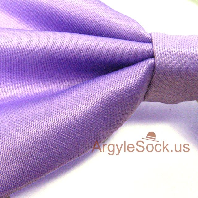 light violet bow tie for wedding