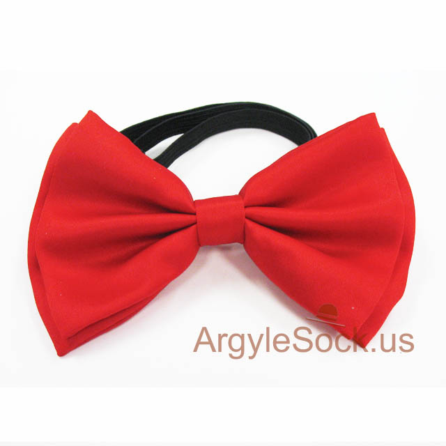 mens red bow tie