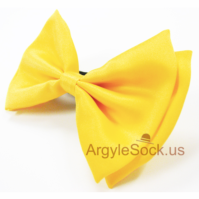 mens yellow bow tie