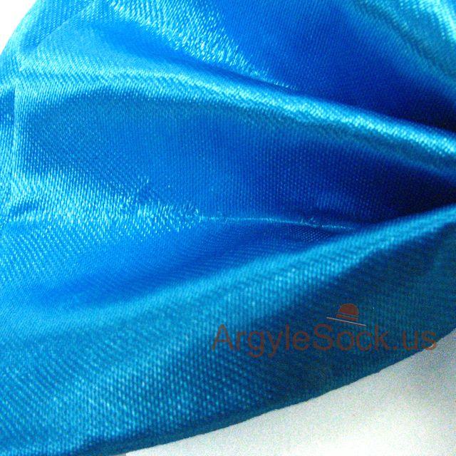 neon blue groomsmen bow tie