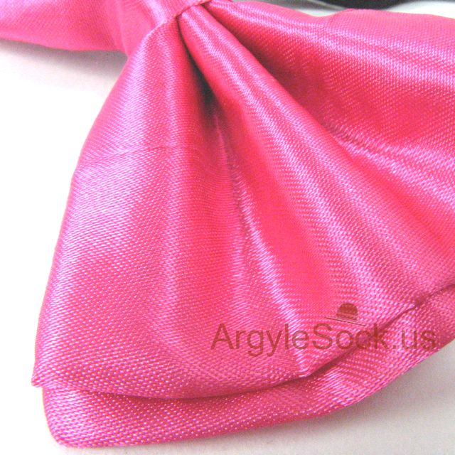 neon pink bow tie for party n wedding