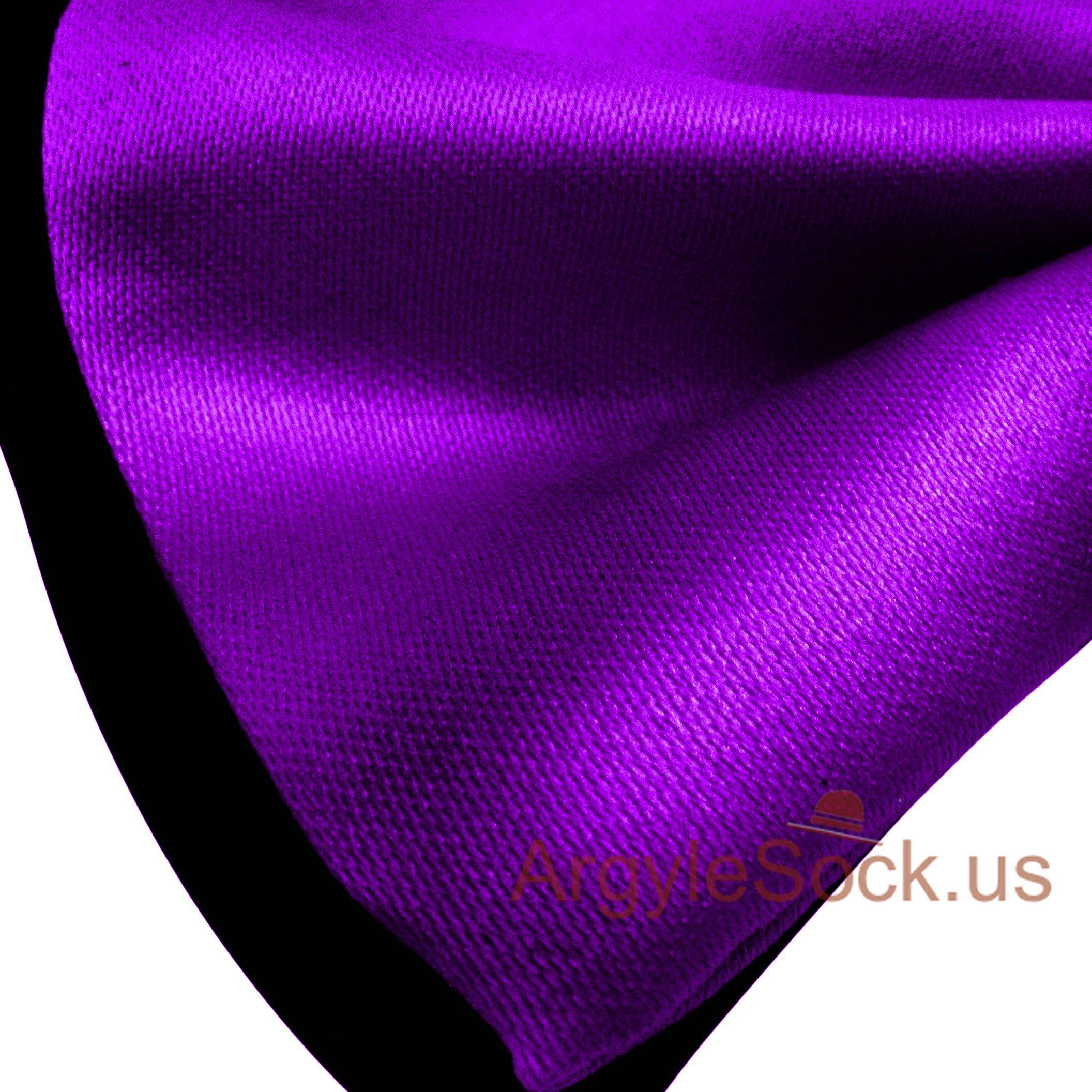 cheap neon purple black bow tie for groomsmen