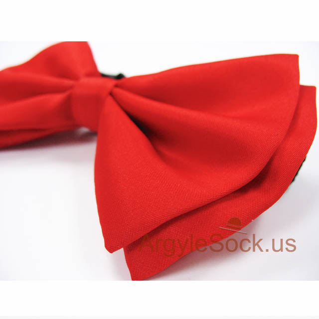 red bow tie for wedding