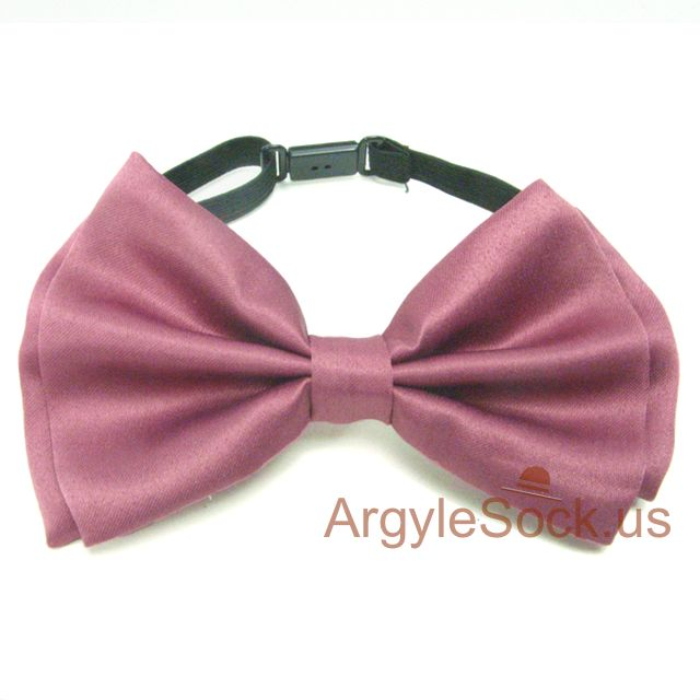 red wood color maroon cheap bow tie for groomsmen