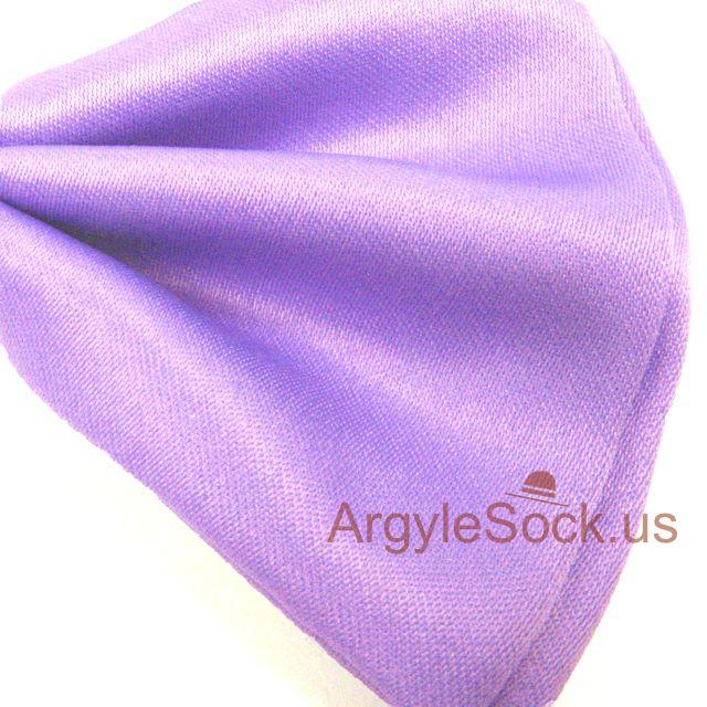 violet wedding bow tie