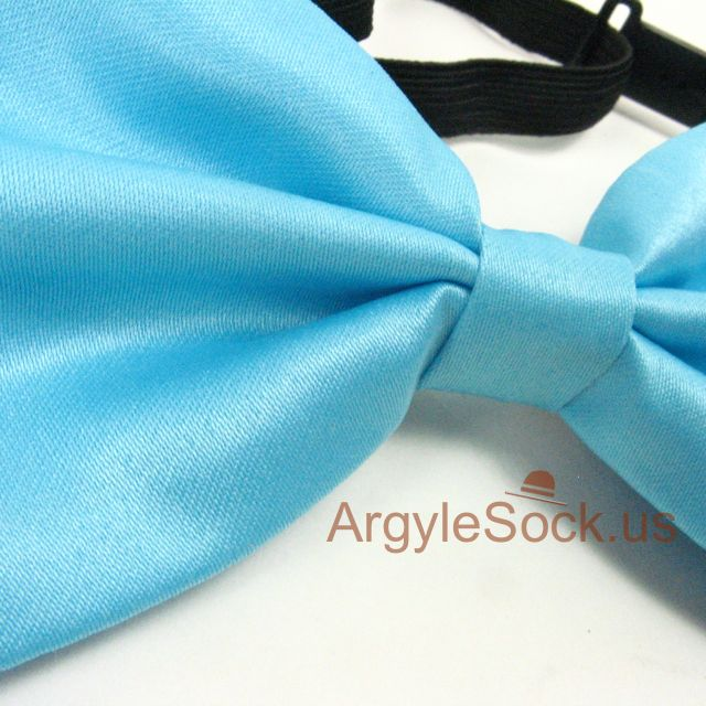 wedding light bow tie for groomsmen