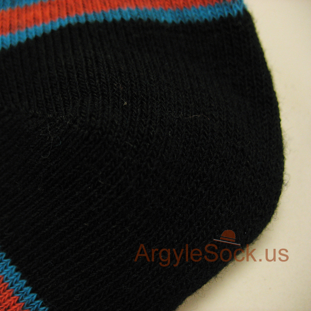 black chinese red%20teal mens sock