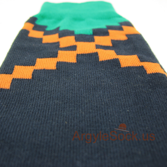 navy blue men's cool socks