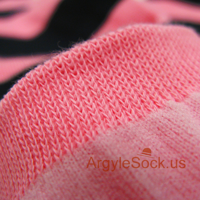 pink navy blue mens striped sock