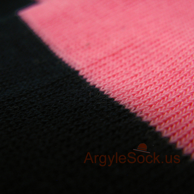 pink navy blue striped mens socks