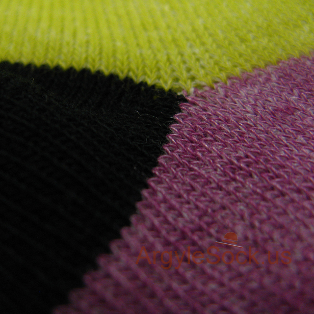 pink purpl lime green aqua mens socks