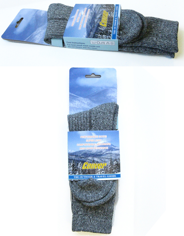 couver outdoor socks for hiking package