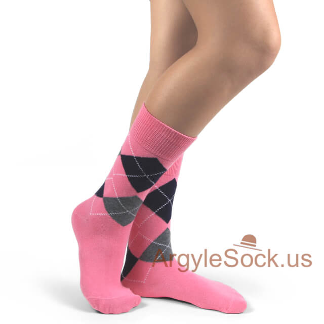 junior groomsmen socks pink
