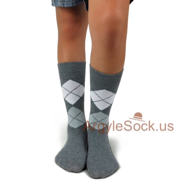 junior groomsmen grey socks