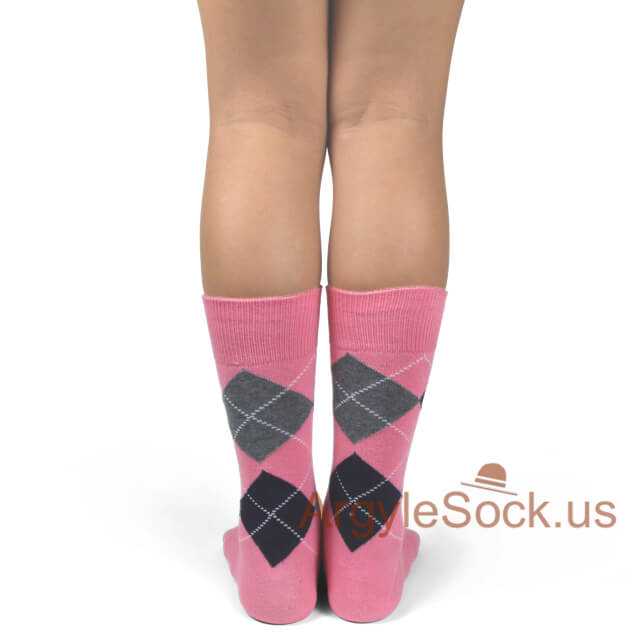 junior groomsmen's socks pink black