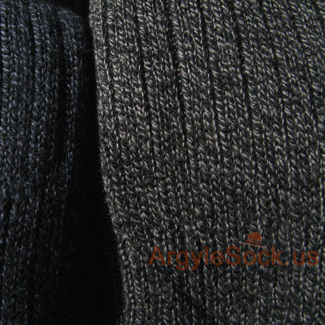 Brown mens dress socks