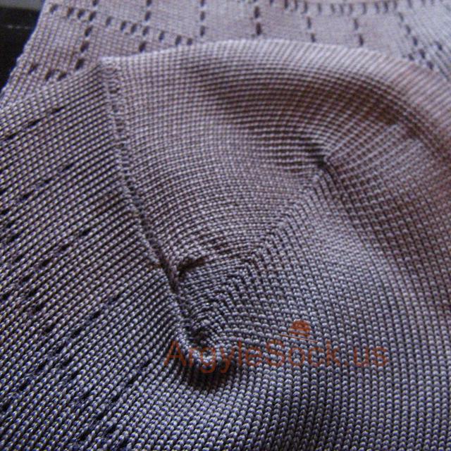 grey plaid check mens socks