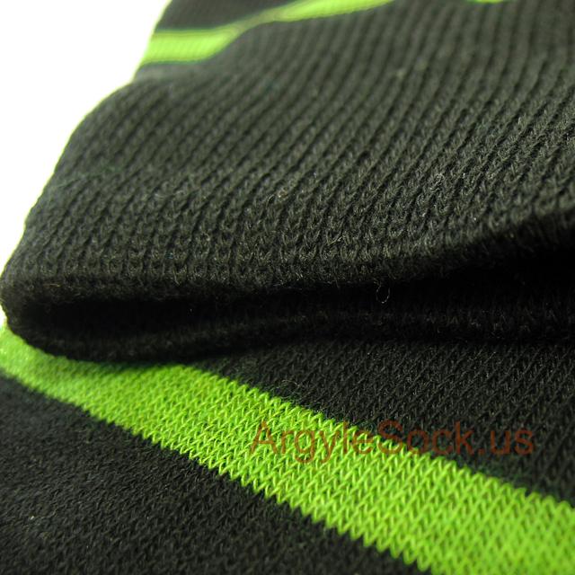 lime green men's socks