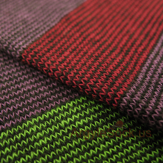 purple ime green maroon stripes mens sock