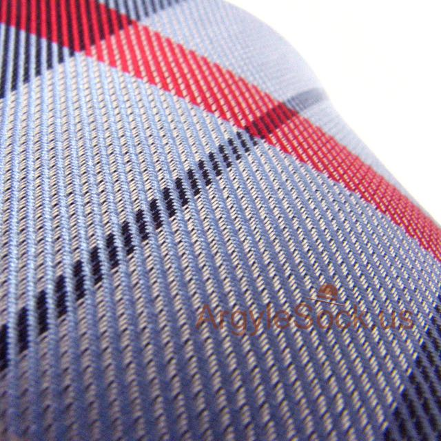 red light blue checkered groomsmens neck tie