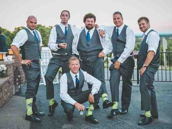 lime green gray light lime green groomsmen socks