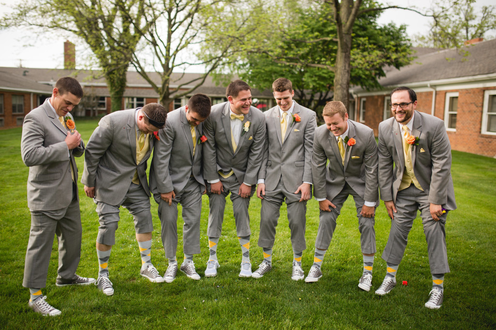 grey gray yellow socks | ArgyleSock.us Customers Pictures (Wedding ...