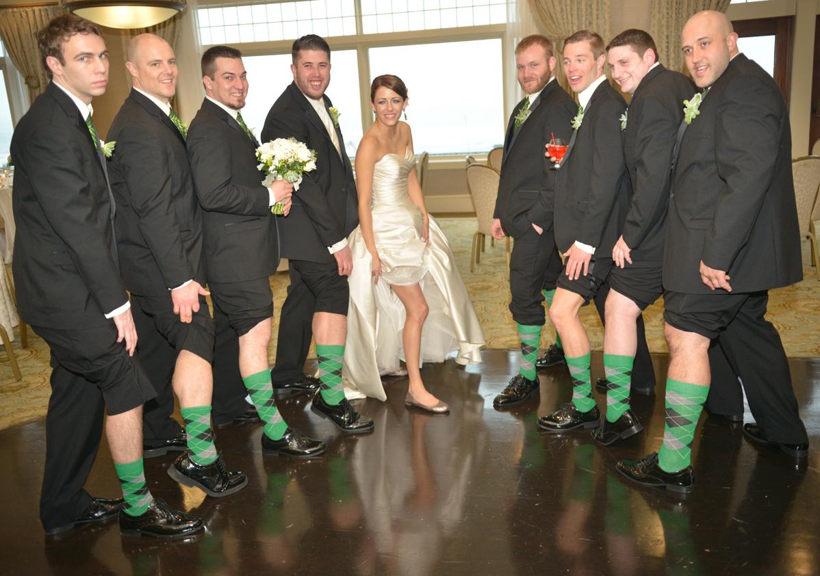 Argylesock is a Big Hit at Wedding!   ArgyleSock.us Customers ...