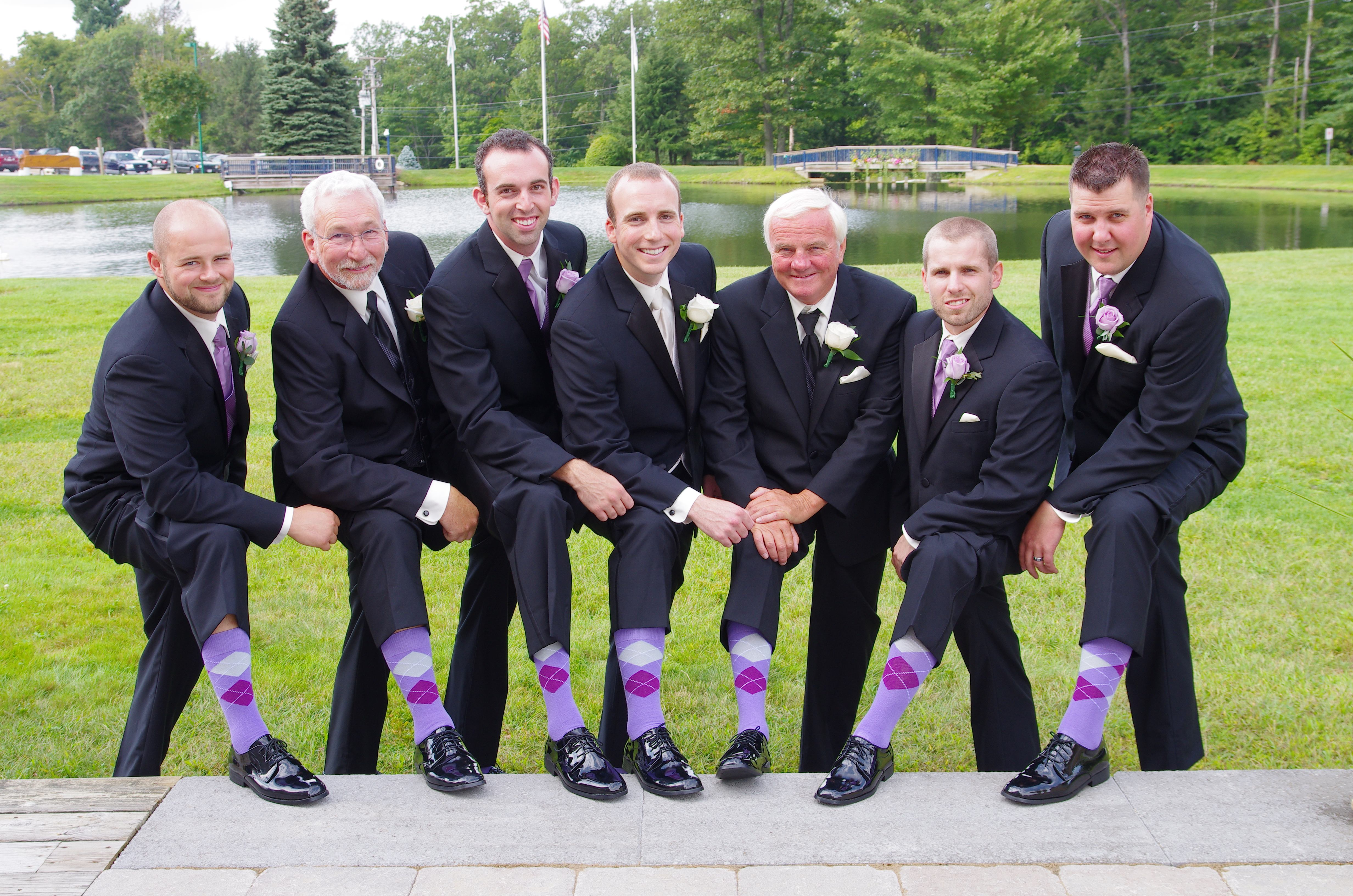 Argylesock Us Customers Pictures Wedding Picture