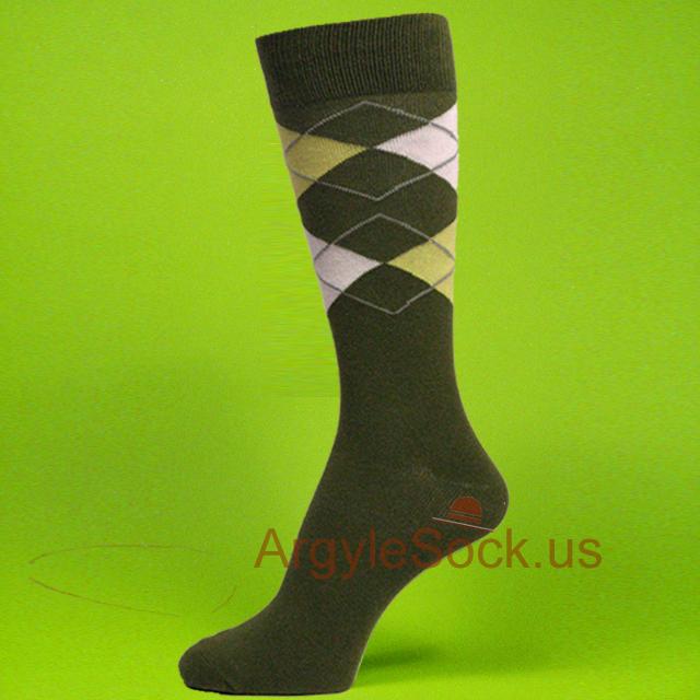 Green groomsmen socks