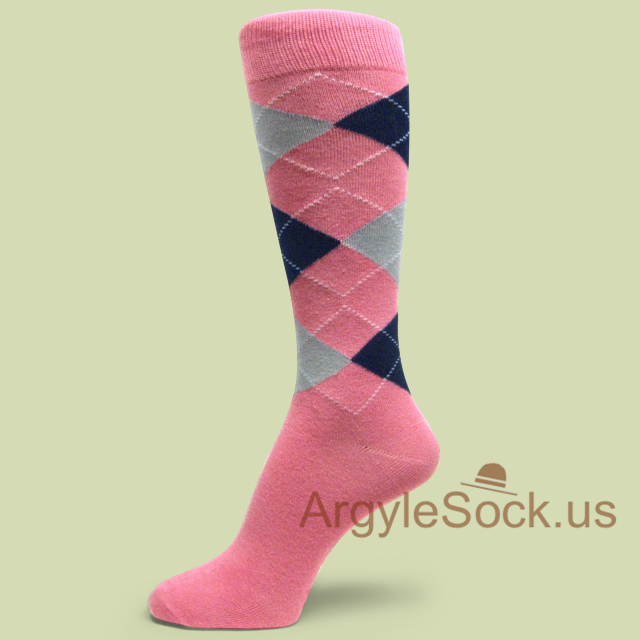 pink mens socks