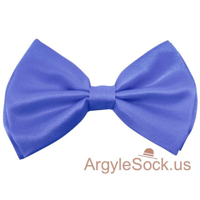 Pompadour Blue bow tie cheap