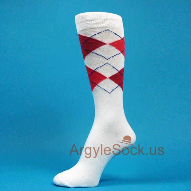 Red Best Man Socks